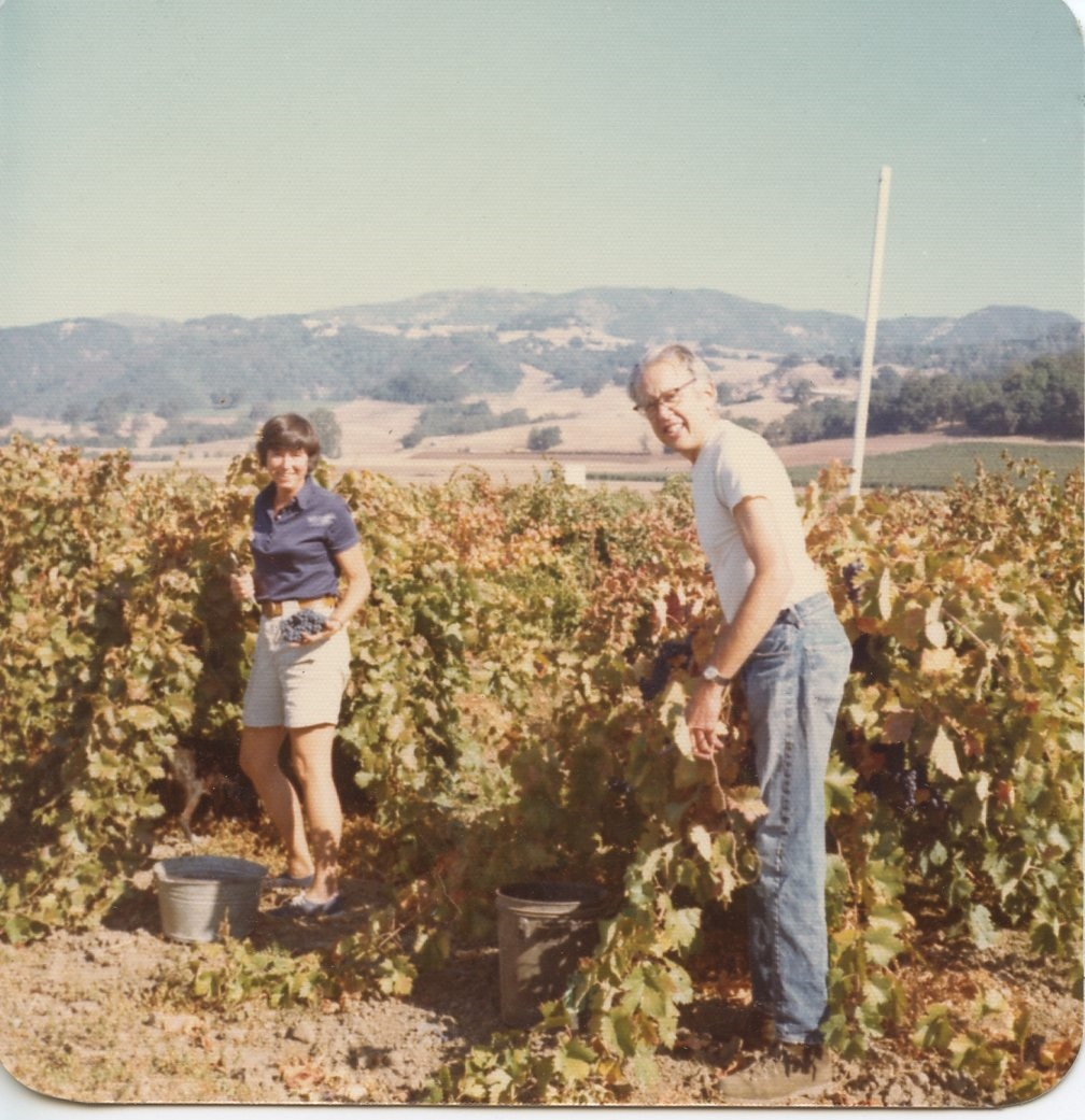 Mary and Dick in the 1970s