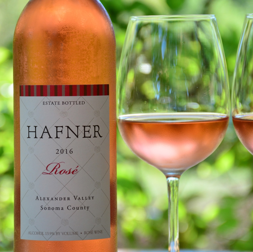 2016 Rosé of Malbec by Hafner
