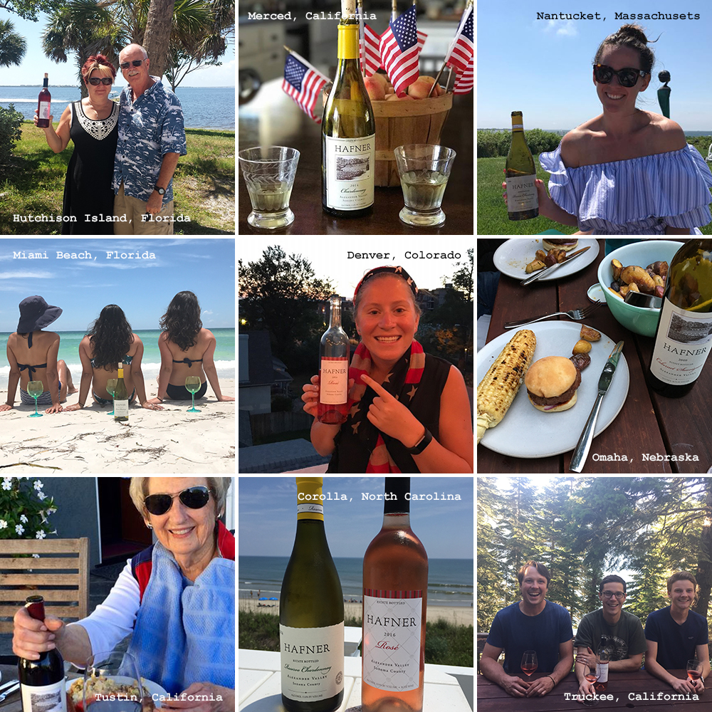 Summer Patron Collage