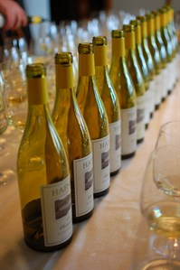 We taste 8 vintages of our Chardonnay from Sonoma County to see how they are developing.