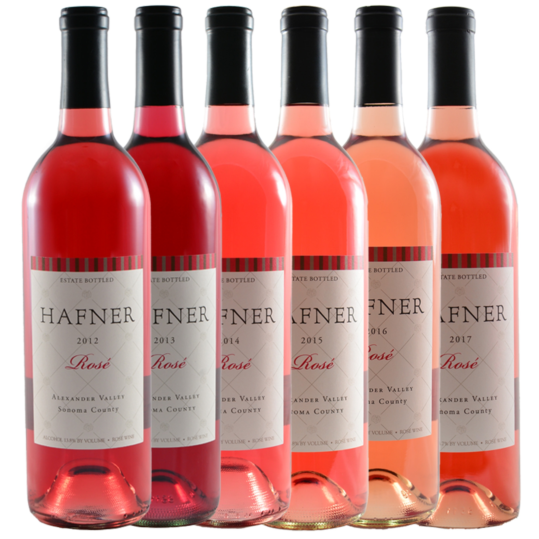 Rose of Malbec Vertical