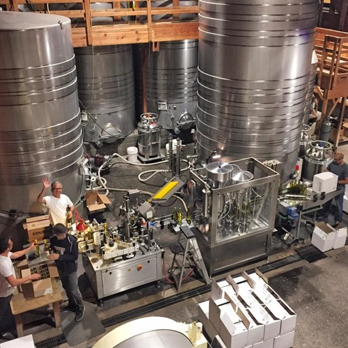 Bottling Line at Hafner Vineyard