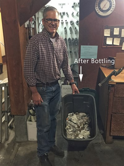 Bottling Trash After