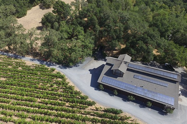 Hafner Vineyard Solar Panels
