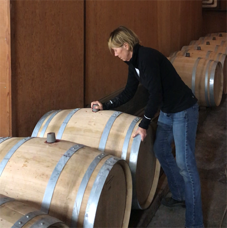 Sarah Hafner Barrel Fermentation
