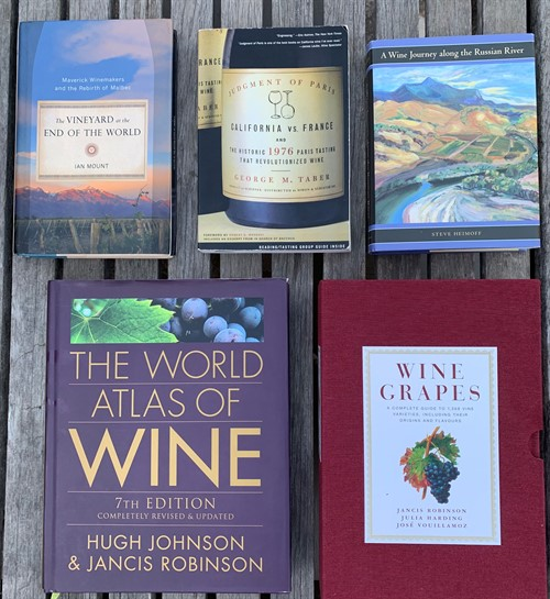 5 Wine Books