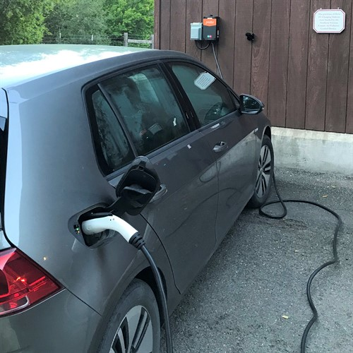 Electric Car Charger at Hafner